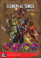 Elemental Genies - Token and Miniatures Pack