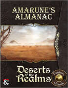 Amarune's Almanac: Deserts of the Realms (Fantasy Grounds)