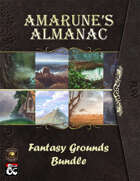 Fantasy Grounds Amarune's Almanac Complete [BUNDLE]
