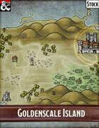 Elven Tower - Goldenscale Island   Stock Region Map