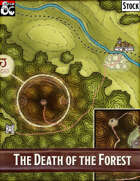 Elven Tower - The Death of the Forest   Stock Region Map