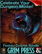 FANTASY GROUNDS Celebrate Your Dungeon Master [BUNDLE]