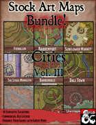Stock Art Maps Bundle 9 - Cities Vol. III [BUNDLE]