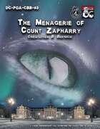 DC-PoA-CBB-03 : The Menagerie of Count Zapharry