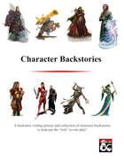 Character Backstories