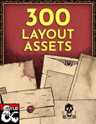 300 Layout Assets! [BUNDLE]