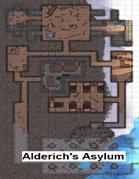 Alderich's Asylum (35x20 dungeon battlemap)