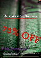 DM's Essential - Civilization Builder [BUNDLE]