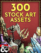 300 Stock Art Assets - Weapons, Crystals, Potions! [BUNDLE]
