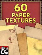 60 Paper Textures! Clean, Stained, & Bloody! [BUNDLE]