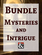 Mysteries and Intrigue [BUNDLE]