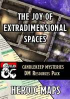 Candlekeep Mysteries: The Joy of Extradimensional Spaces DM Resources Pack