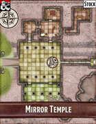 Elven Tower - Mirror Temple | 30x30 Stock Battlemap