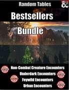 Bestsellers Bundle - Random Tables [BUNDLE]