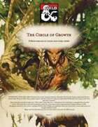 The Circle of Growth Druid subclass