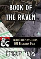 Candlekeep Mysteries: Book of the Raven DM Resources Pack