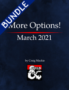 More Options! March 2021 [BUNDLE]