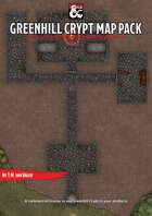 Greenhill Crypt - Forgotten Realms Stock Maps