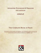 AD&D5E: The Complete Book of Feats