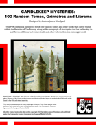 CM01: Candlekeep Mysteries: 100 Random Tomes, Grimoires and Librams