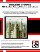 CM01: Candlekeep Mysteries: 100 Random Tomes, Grimoires and Librams