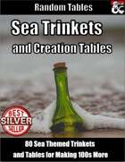 Sea Trinkets and Creation Tables - Random Tables