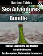 Sea Adventures Bundle - Random Tables [BUNDLE]