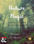 Nature Magic (Fantasy Grounds)
