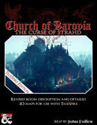 Curse of Strahd - Church of Barovia - TaleSpire Edition