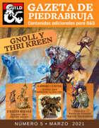 Gazeta de PiedraBruja: Gnoll y Thri-Kreen - Nuevas Razas jugables para D&D 5e español