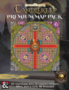 Candlekeep Premium Map Pack (Fantasy Grounds)