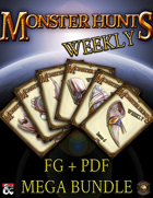 Monster Hunts Weekly: Mega Bundle [BUNDLE]
