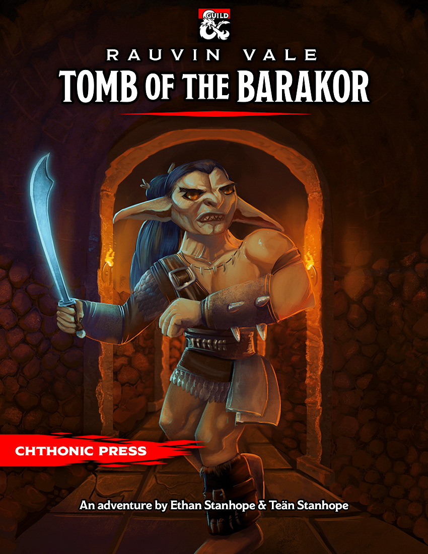 Cover of Rauvin Vale: Tomb of the Barakor