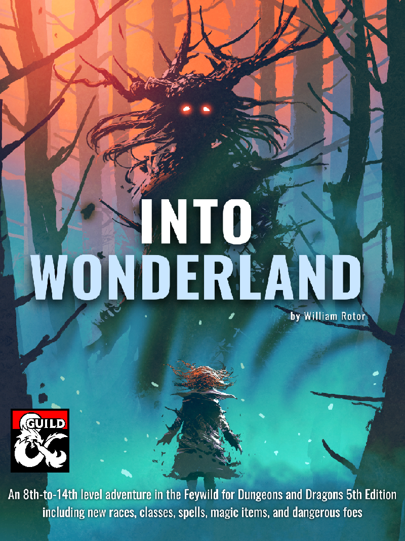 Cover of Into Wonderland