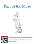 Pact of the Muse