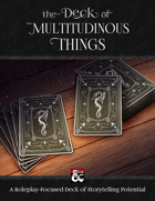 The Deck of Multitudinous Things (Fantasy Grounds)