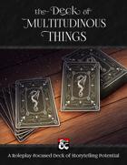 The Deck of Multitudinous Things (PDF & VTT) [BUNDLE]
