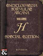 Encyclopaedia Formulae Arcana SPECIAL EDITION - H