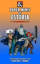 Paper Minis of Ostoria (Storm King's Thunder)