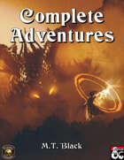 Complete Adventures of M.T. Black Vol. I (Fantasy Grounds)