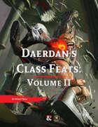 Daerdan's Class Feats | Volume II (Fantasy Grounds)