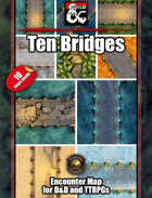 Ten Bridge Battlemaps w/Fantasy Grounds support - TTRPG Maps