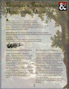 Character Background: Hereditary Druid