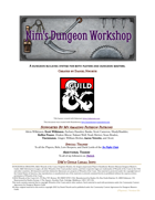 Nim's Dungeon Workshop