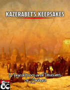 Kazerabet's Keepsakes - Over 180 Magic Items and Artifacts for Al-Qadim and Forgotten Realms Campaigns