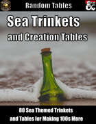 Sea Trinkets and Creation Tables - Random Tables (Fantasy Grounds)