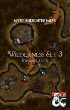 Wilderness Maps Set 3 Swamplands