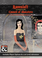 Ravenloft: Invitation to the Council of Monsters