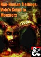 Tiefling Variants: Volo's Guide to Monsters