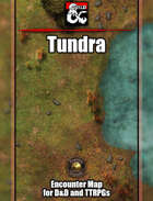 Tundra Battlemap w/Fantasy Grounds support & Foundry VTT Support